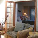 Carriage House - French Doors to Bedroom