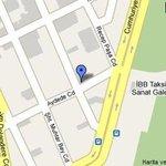 Riva Hotel Taksim Map