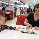 Folding paper car for kids