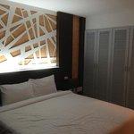 A shot of the room at Intara