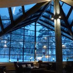 Glass roofed annexe to see Northern lights(but it faces south)