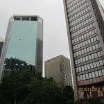 Außenansicht von der Avenida Paulista aus