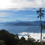 Santa Marta mountains above Minca