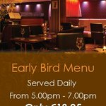 Early Bird Menu at The George Boutique Hotel, Limerick City