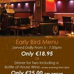 Early Bird & Dinner for 2 Offer at The George Boutique Hotel