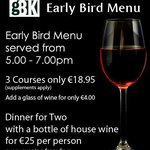 Early Bird Offer at The George Boutique Hotel, Limerick City