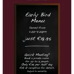 Early Bird Menu for €18.95 at The George Boutique Hotel, Limerick City