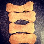 Homemade dog treats...the boys love these! The Black Bull is very pet friendly