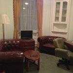 Astor Court - Sitting Area in Double Bedroom
