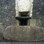 The Entrance Stone and Roff box at the UNESCO World Heritage site NEWGRANGE..