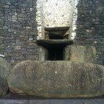 The Entrance Stone and Roff box at the UNESCO World Heritage site NEWGRANGE..