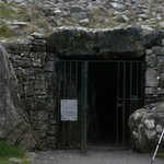 The Entrance to Cairn T at Loughcrew Cairns in Oldcastle in CO.MEATH..