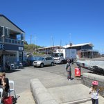 Half Moon Bay,Black Rock yacht club,pier and eateries