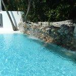 Cascata da piscina