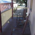 Montejurra Room balcony