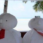 Christmas Maldives style