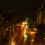 Panorama dalla camera by night