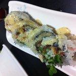 Soft crab sushi
