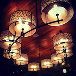 The gorgeous lobby light