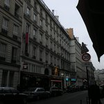 Paris Stret Life is just outside the Royal Madeleine