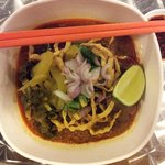 Chiang Mai Pork Curried Noodle (special order)