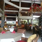 Dewi Sinta restaurant at the resort