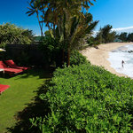 Ocean Front Beach Lounge