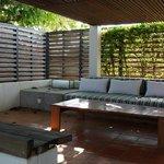 sansky villa - rooftop lounge