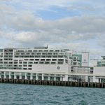 View of the hotel from Pride of Auckland