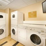Enjoy the Candlewood Suites Complementary  Laundry