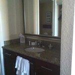 Vanity in room 308