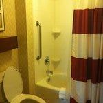 Bathroom in room 308