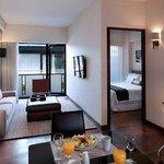 2 Bedrooms Top Suite