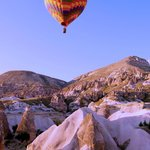 Cappadocia Balloon ride over Fairy chimmneys - stunning!