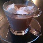 Chocolat chaud et guimauves