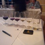 Wine tasting was great fun