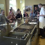 Cookery school was a laugh