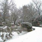 Yacanto de Calamuchita con nieve