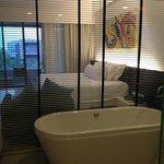 kamer mee bubbelbad op t balkon