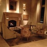 Beautiful seating areas in the lobby.