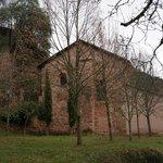 Parte trasera del monasterio