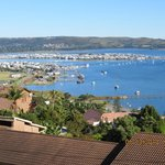 View of Knysna harbour from Spitzkop Suite