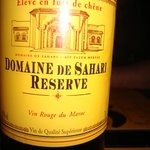Bon vin rouge marocain
