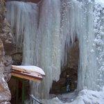 Ein Vorhang aus Eis
