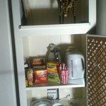 watercooker for tea/coffee in room