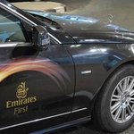 Complimentary Driver from Emirates Airline / across the whole UAE (unlimited miles - for free)