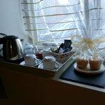 Cakes and tea & coffee facilities