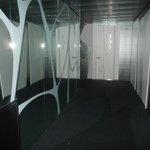 il corridoio che porta alle camere