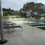Paihia Beach Resort Pool Area