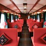 Restaurant on Victoria Express Train